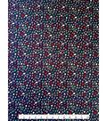 Doodles Juvenile Apparel Fabric 57\u0022-Navy Crowns & Stars