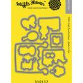 Waffle Flower Die-Popping In