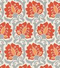Waverly Upholstery Fabric 56\u0022-Playing Around Paprika