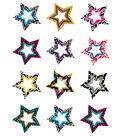 Fancy Stars Mini Accents 36/pk, Set Of 12 Packs
