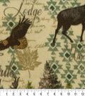 Anti-Pill Fleece Fabric 59\u0022-Into The Wild Green