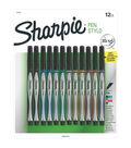 Sharpie Pens Stylo Fine 12/Pkg-Assorted Colors