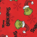 Holiday Cotton Fabric -Merry Grinchmas