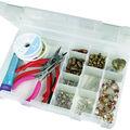 ArtBin Tarnish Inhibitor 4-16 Compartment Box-10.75\u0022X7.375\u0022X1.75\u0022 Translucent