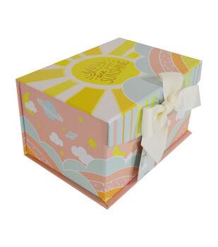 Organizing Essentials Small Fliptop Storage Box-Twinkle Twinkle