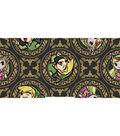 Nintendo Zelda Fleece Fabric 59\u0022-Golden Badges