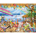 White Mountain Puzzles Jigsaw Puzzle Happy Hour