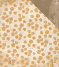 Golden Grove Double-Sided Cardstock 12\u0022X12\u0022-Fallen Leaves