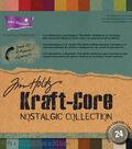 Core\u0027dinations Tim Holtz Nostalgic Kraft Core Cardstock 12\u0022x12\u0022
