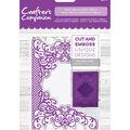 Crafter\u0027s Companion 4.25\u0027\u0027x5\u0027\u0027 Cut & Emboss Folder-Royal Trellis