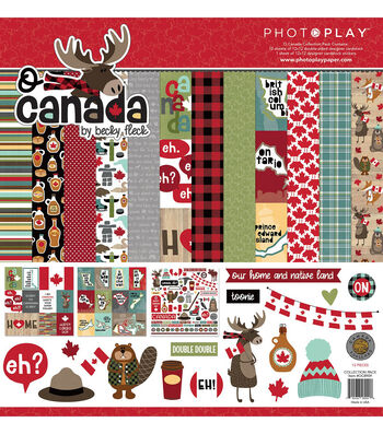 """PhotoPlay Collection Pack 12""""X12""""-O Canada"""