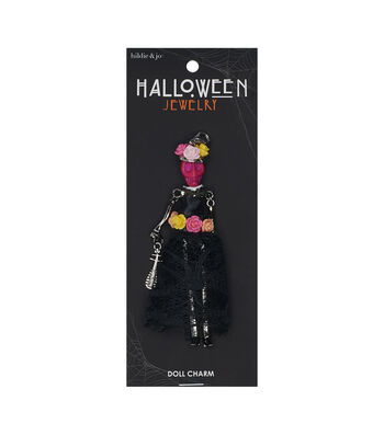 hildie & jo Halloween Doll Pendant-Day Of The Dead Colorfull Araceli