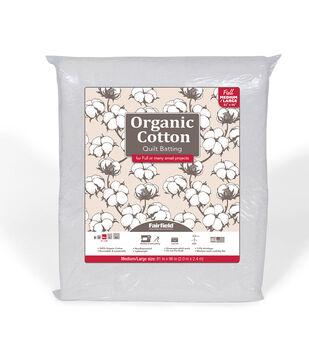 Fairfield Premium Organic Cotton Batting-Full