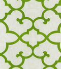 Waverly Lightweight Decor Fabric-Linear Array/Moss