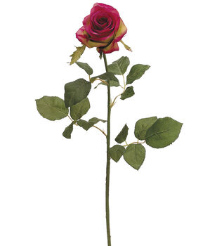 "Bloom Room 27.5"" Confetti Rose Stem-Beauty"