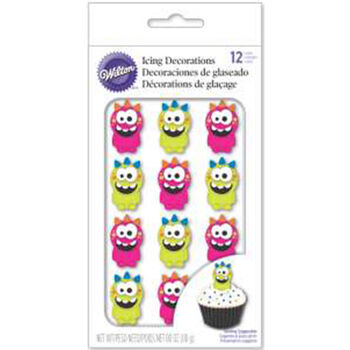 Wilton Royal Icing Decorations-Monster