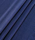 Apparel Pucker Knit Fabric 59\u0027\u0027-Navy