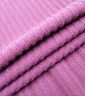 Check It Brushed Rib Knit Fabric 57\u0022-Cabernet