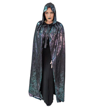 Maker's Halloween Adult Cape-Metallic