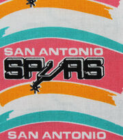 San Antonio Spurs Cotton Fabric -Vintage Logo, , hi-res