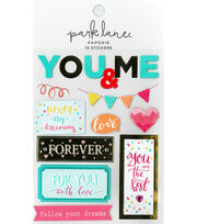 Park Lane Paperie 10 pk Stickers-You & Me, , hi-res