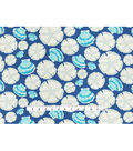 Waverly Outdoor Print Fabric 54\u0027\u0027-Indigo Sand Dollar