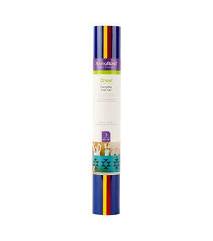 Cricut 3 Sheets 12''x12'' Everyday Iron-on Samplers-Playroom