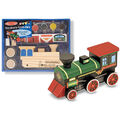 Melissa & Doug Decorate-Your-Own Wooden Train-