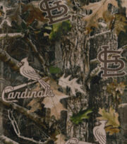 St. Louis Cardinals Fleece Fabric-TrueTimber, , hi-res