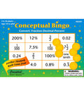 Conceptual Math Bingo, Convert Fraction Decimal Percent, Pack of 450