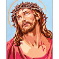 Collection D\u0027Art Diamond Embroidery/Printed/Gem Kit 27x19cm-Jesus Christ