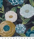 Robert Allen @ Home Print Swatch 55\u0022-Luna Flora Storm