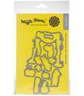 Waffle Flower Crafts 9 pk Steel Craft Dies-Salty Kisses