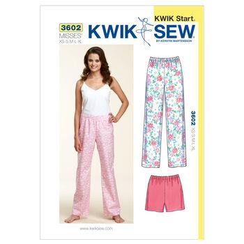 Kwik Sew Misses Sleep & Lounge-K3602