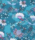 Keepsake Calico Cotton Fabric-Dragon Floral