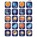 Teacher Created Resources Planets Thematic Stickers, 120/Pack, 12 Packs