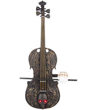 Maker's Halloween Animated Playing Violin Decor