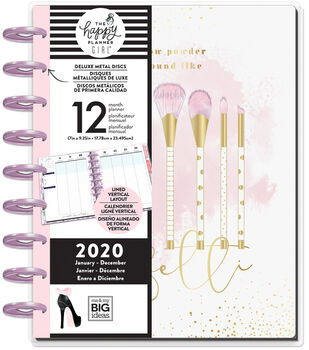 The Happy Planner Girl Deluxe Classic 2020 Planner-Glam Girl Confetti