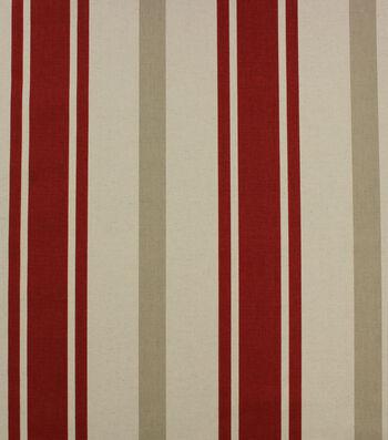 "Hudson 43 Farm Multi-Purpose Decor Fabric 43""-Red Paritan"