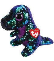 Ty Inc. Flippables Medium Sequin Crunch Dinosaur, , hi-res