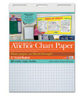 Pacon 25-sheet 1\u0027\u0027 Grid Ruled Heavy Duty Anchor Chart Papers 24\u0027\u0027x32\u0027\u0027