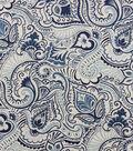 Home Essentials Lightweight Decor Fabric 45\u0027\u0027-Navy Edina