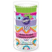 Wilton Mini Baking Cups-Pinks 150/Pkg, , hi-res