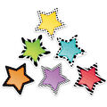 Creative Teaching Press Bold & Bright Stars 6\u0022, 36 Per Pack, 3 Packs