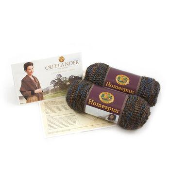 Outlander Garment Knit Kit-Wavering Both Sides Now Shawl