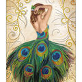 RTO Diamond Mosaic Embroidery Kit 40X50cm-Magic Dress