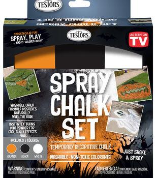 Testors Halloween Spray Chalk Set