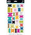 Illustrated Faith Basics Bible Book Tabs Stickers-Colorful
