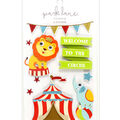 Park Lane 9 pk 3D Stickers-Circus