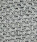 Fuzzy Sweater Knit Fabric 57\u0022-Black Geo